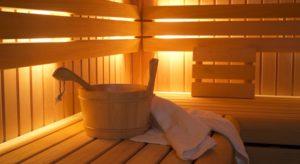 sauna les chalets du thorens